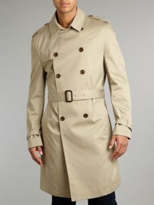 Astaire Double Breasted Belted Mac