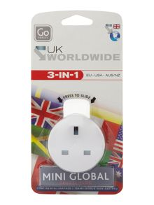 Go Travel Mini global plug