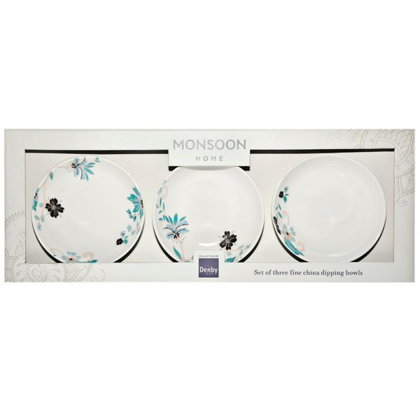 Veronica dip dish set of 3