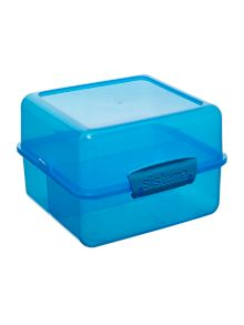 `Lunch cube` tupperware box in assorted colours