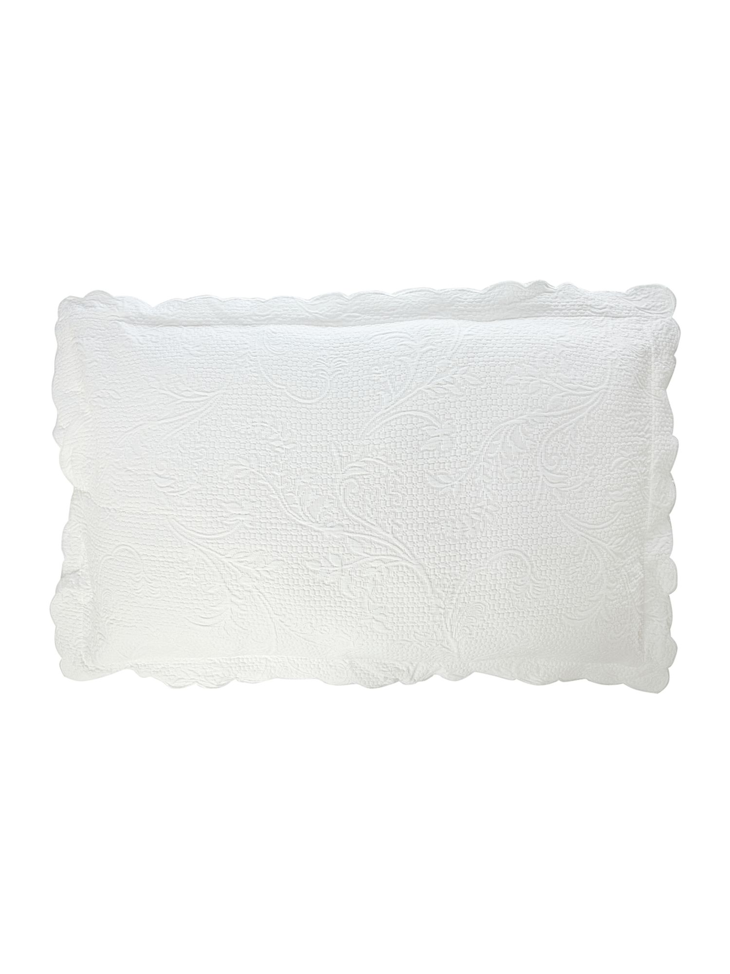 Matelasse pillowsham