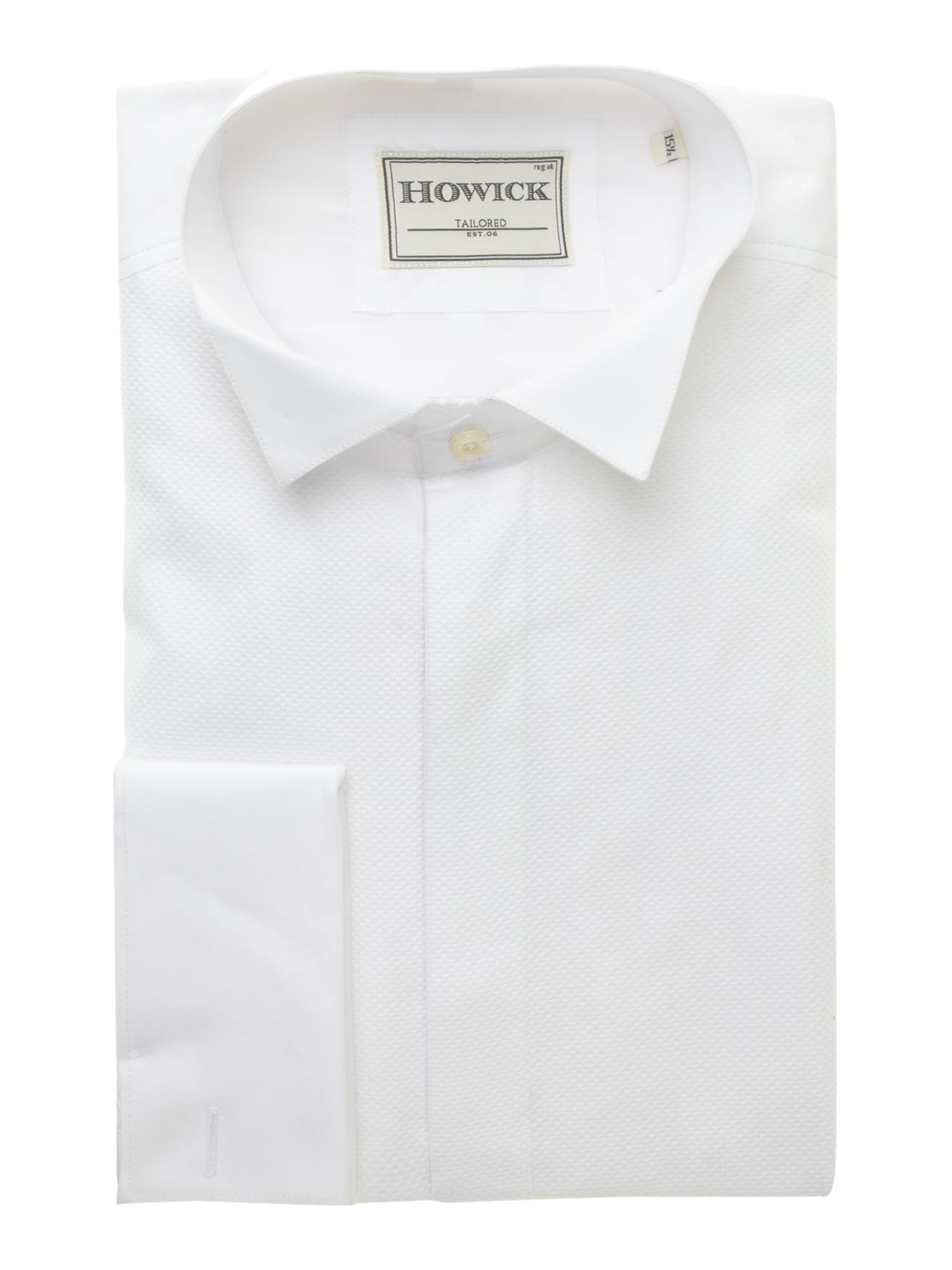 Mens Howick Tailored Wing collar marcella bib evening shirt £19.50 AT vintagedancer.com