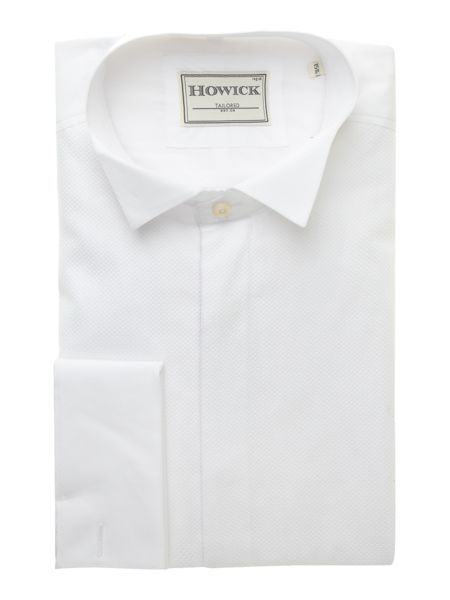 Howick Tailored Wing collar marcella bib evening shirt
