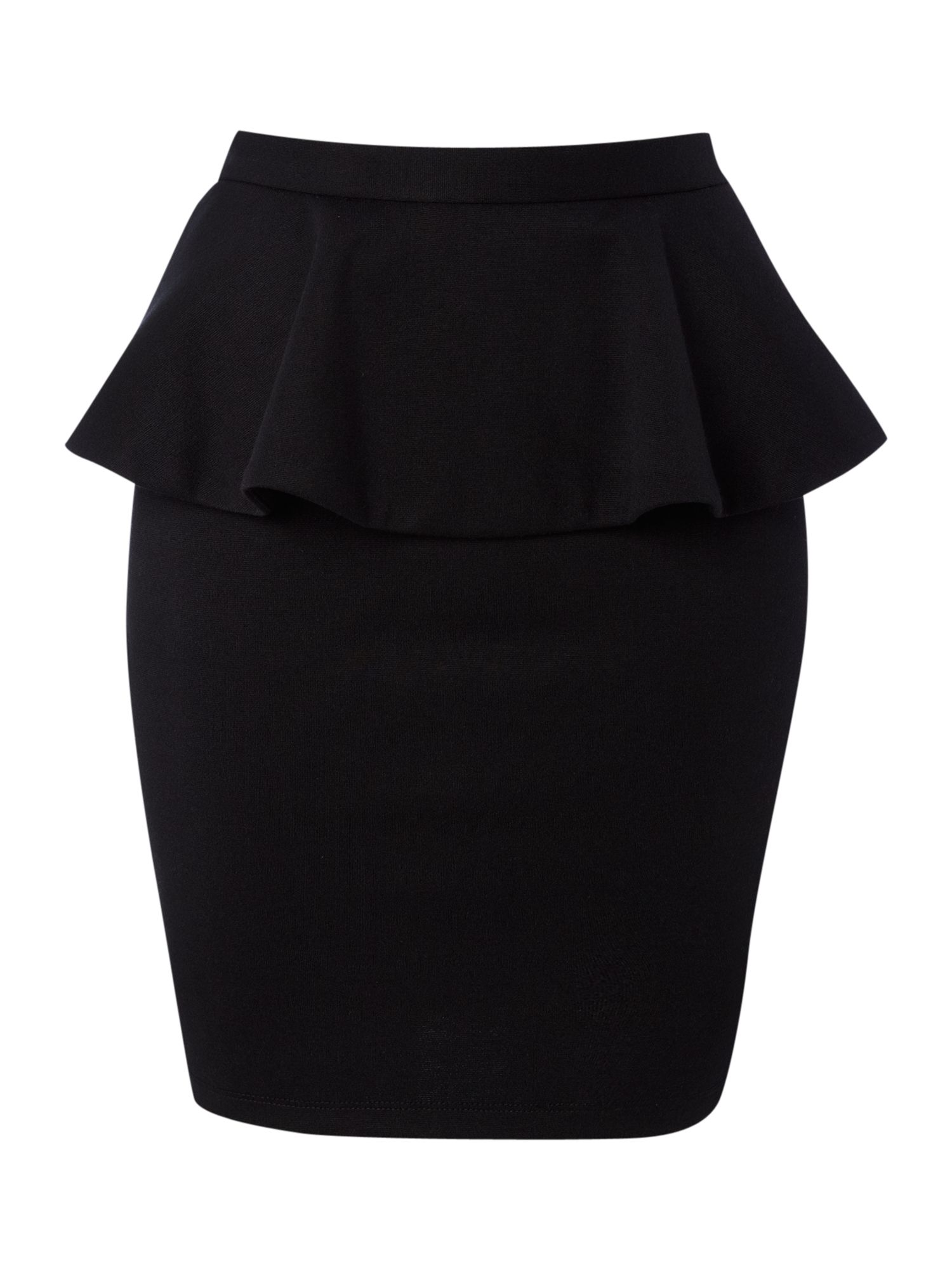Bodycon peplum skirt