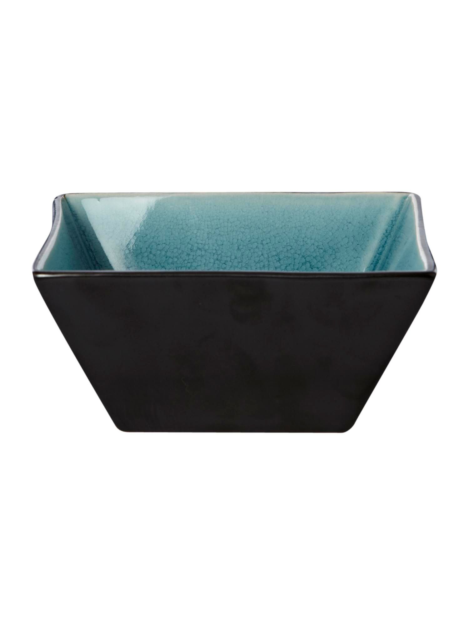 Zen blue square bowl large