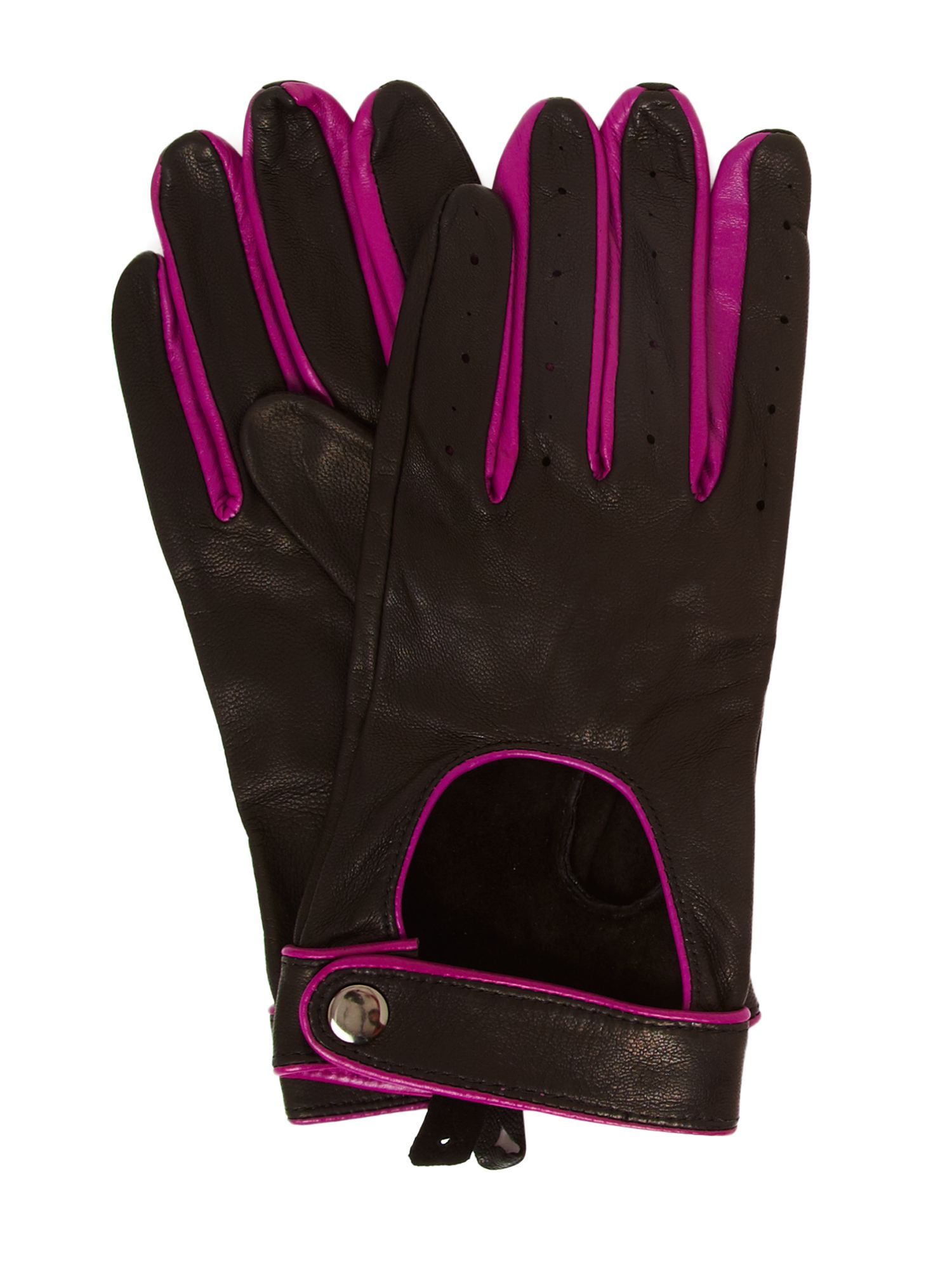 Lucy leather driving gloves
