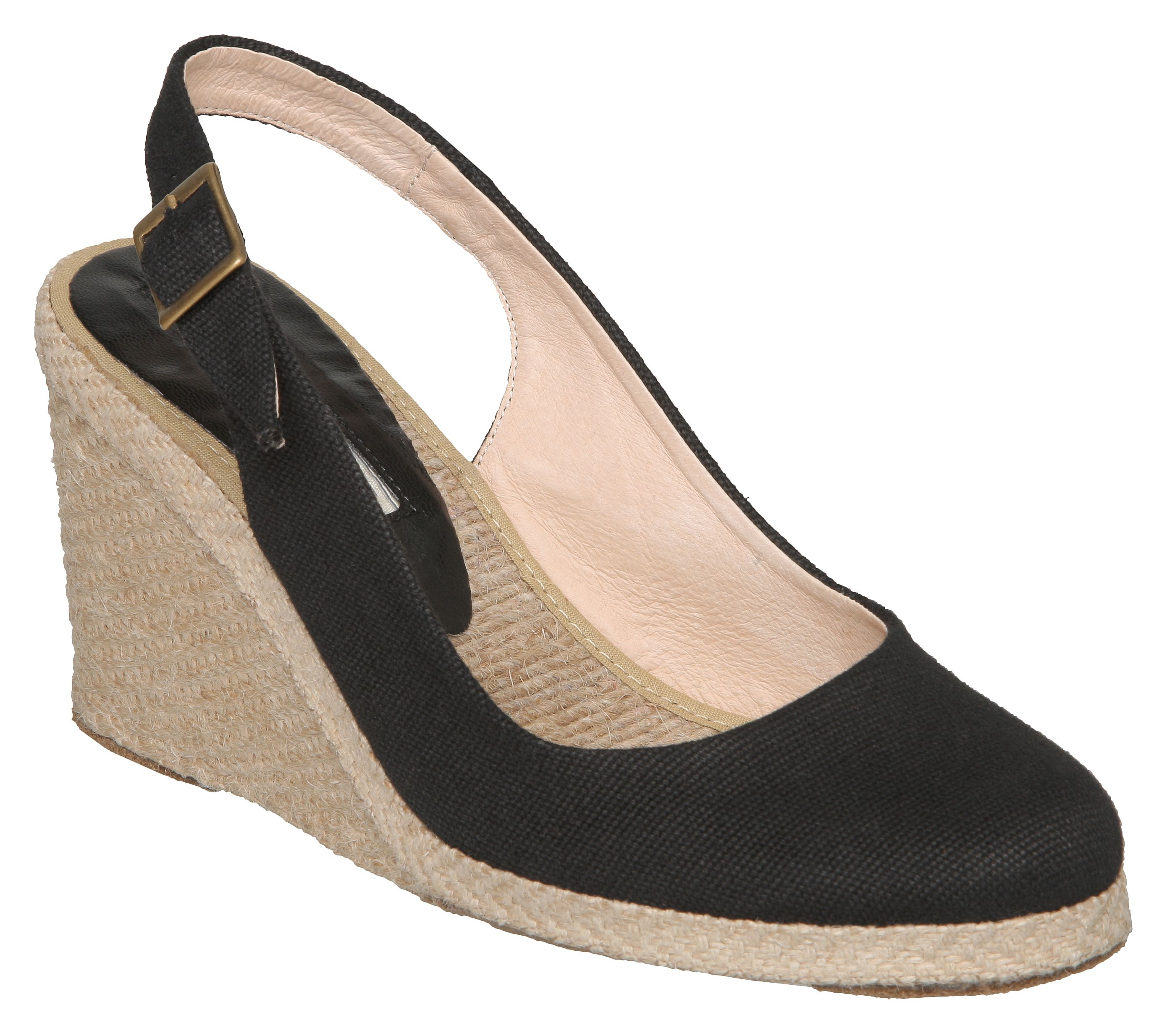 Imperia simple slingback espadrille courts