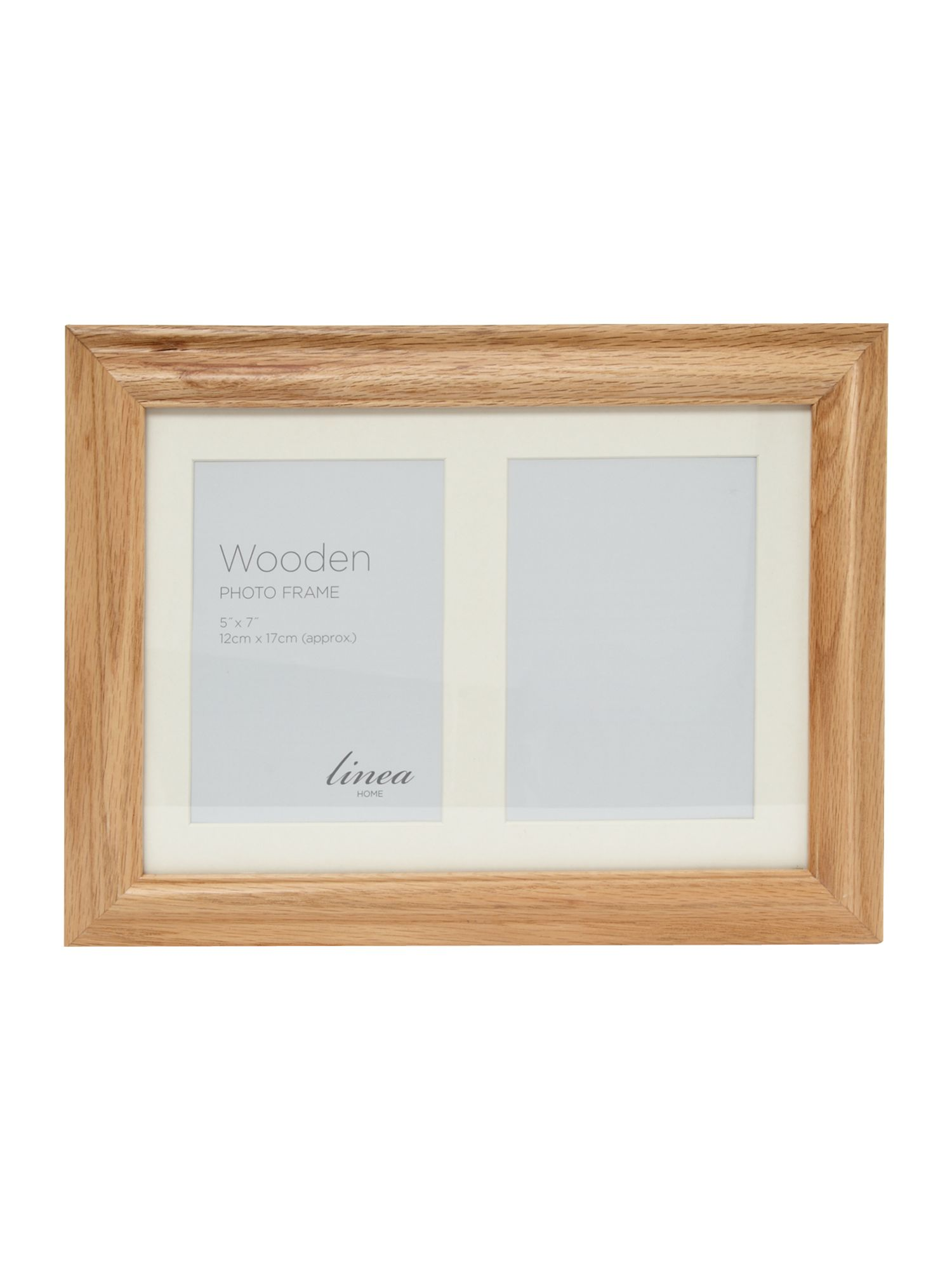 Oak Multi Aperture Photo Frame