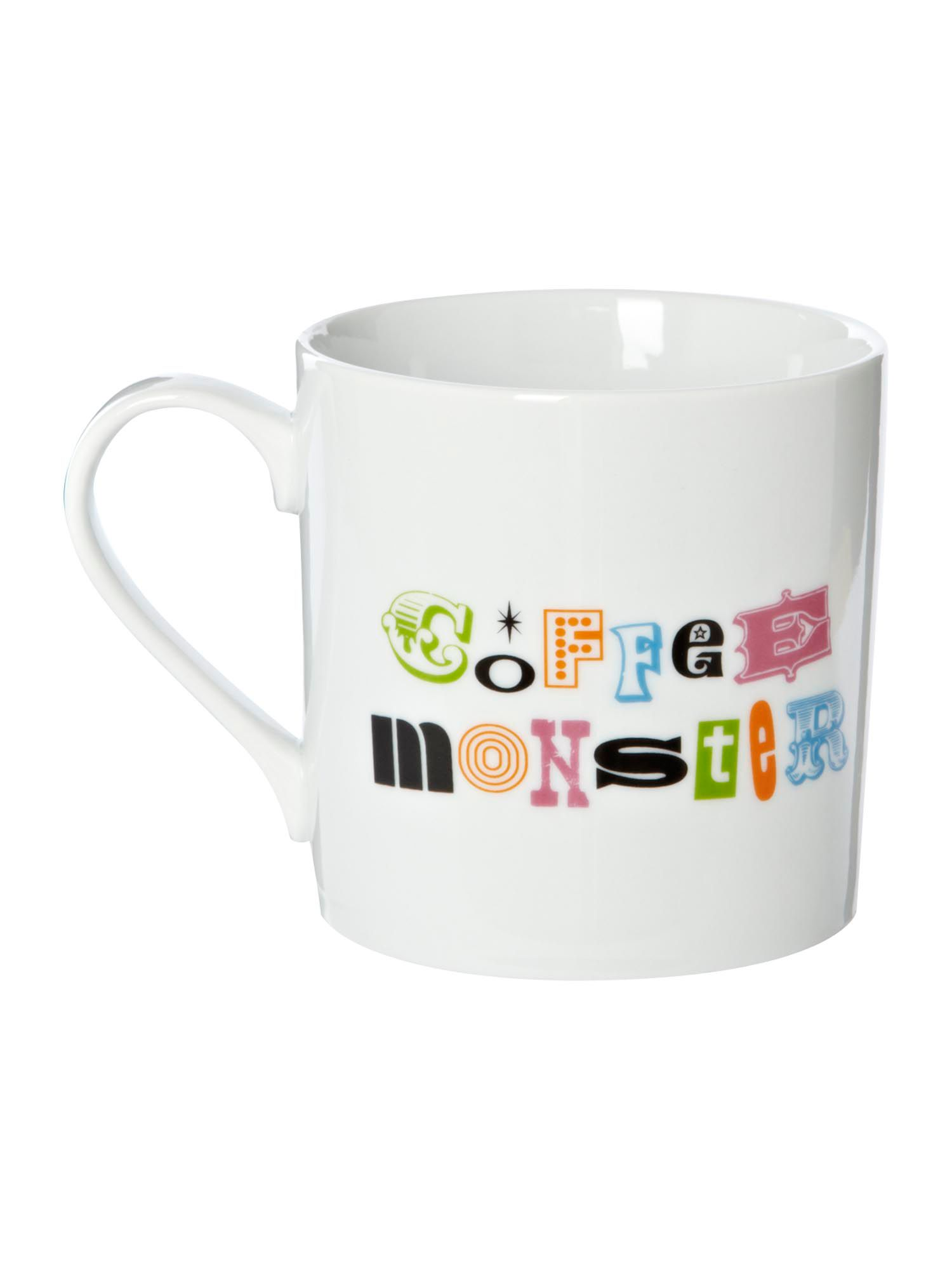 Coffee monster mug