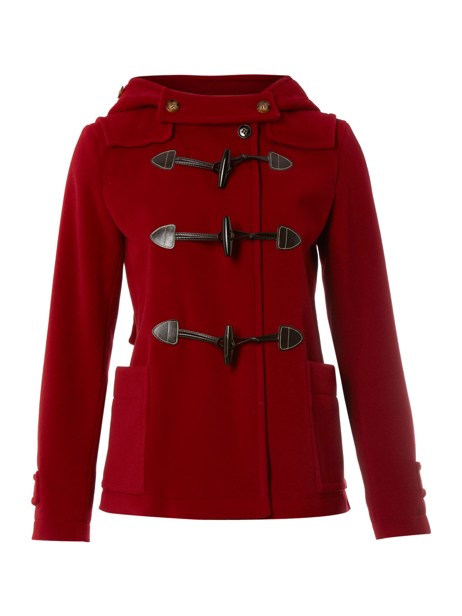 Women's MaxMara Weekend Vera short duffle coat, Red