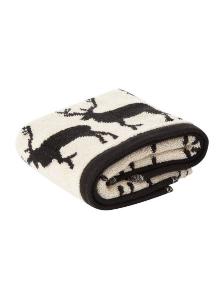 Anorak Kissing stags guest towel