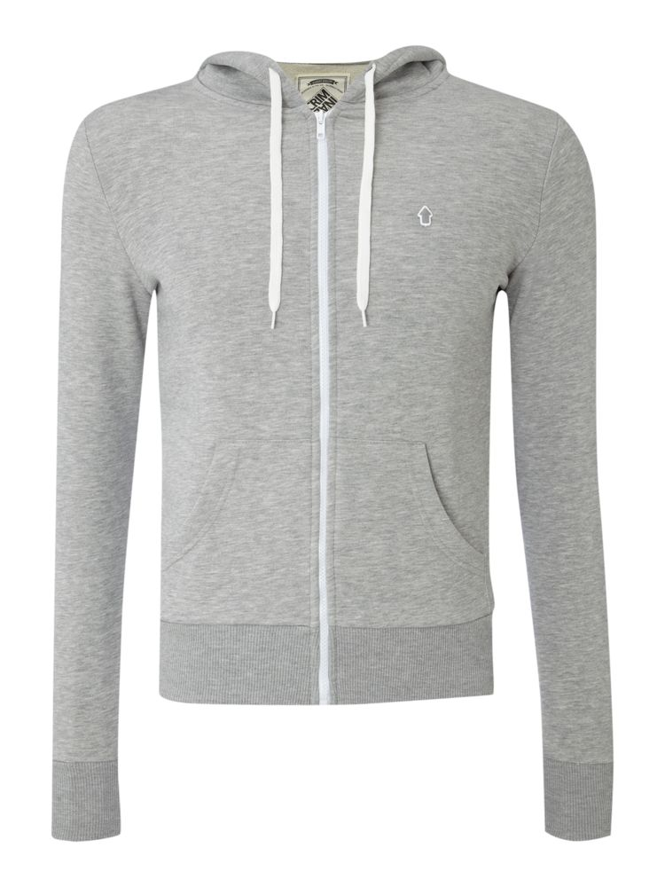 Criminal-Screwball-Hoodie-In-Light-Grey-From-House-of-Fraser