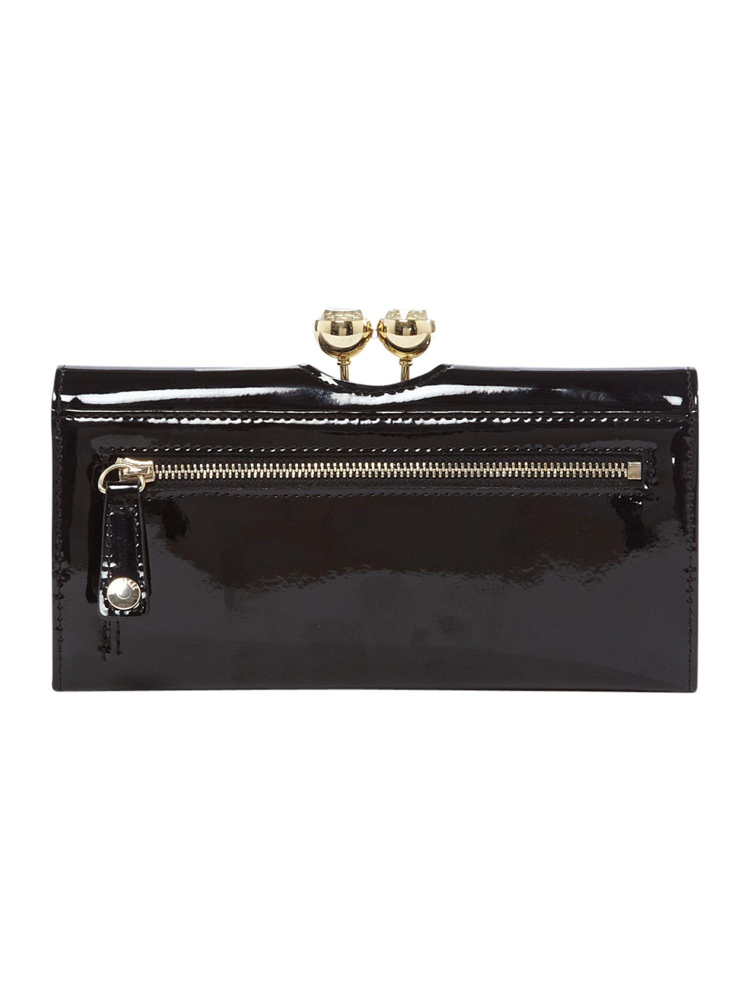 Kassady crystal large flapover purse