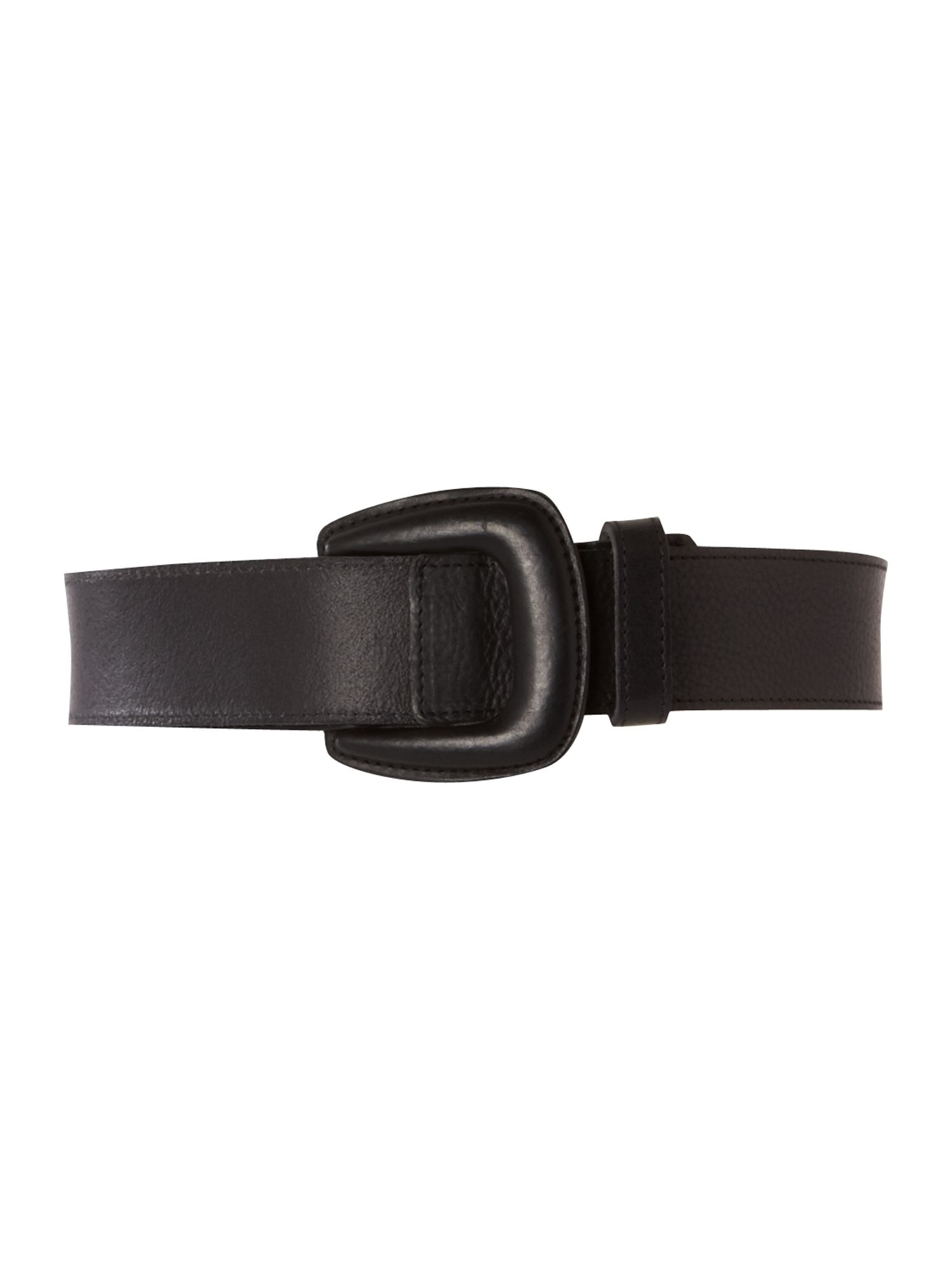 Lamant black buckle hip belt