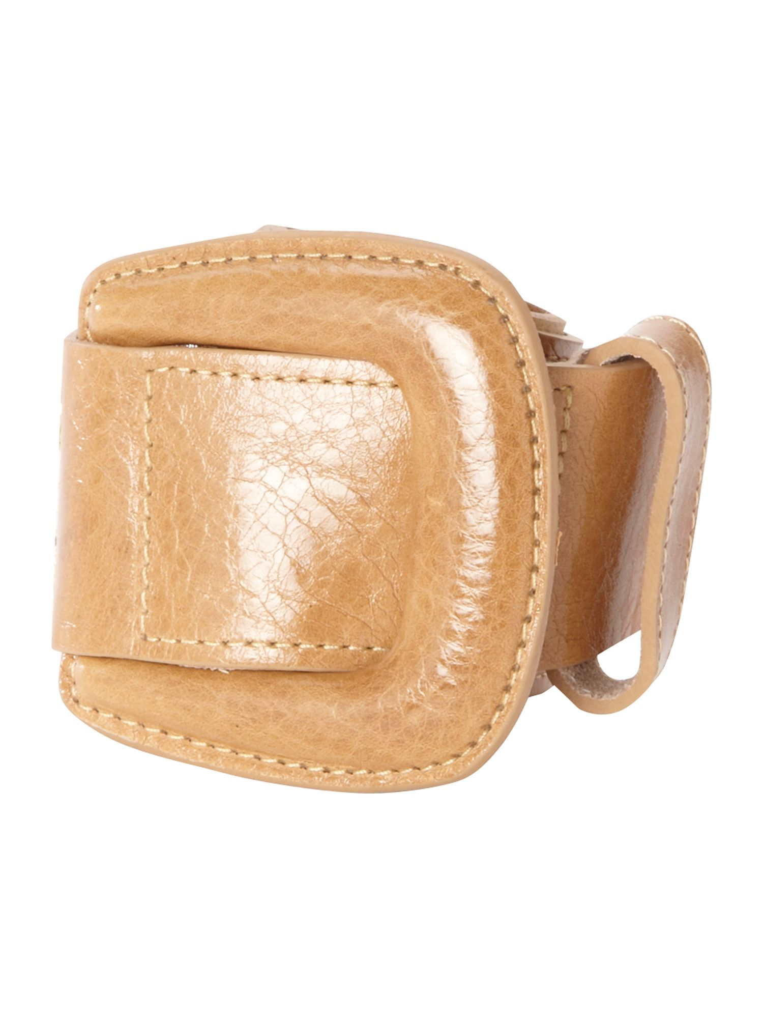 Lamant tan buckle hip belt