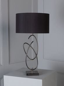 Linea Blake sculpture base table lamp