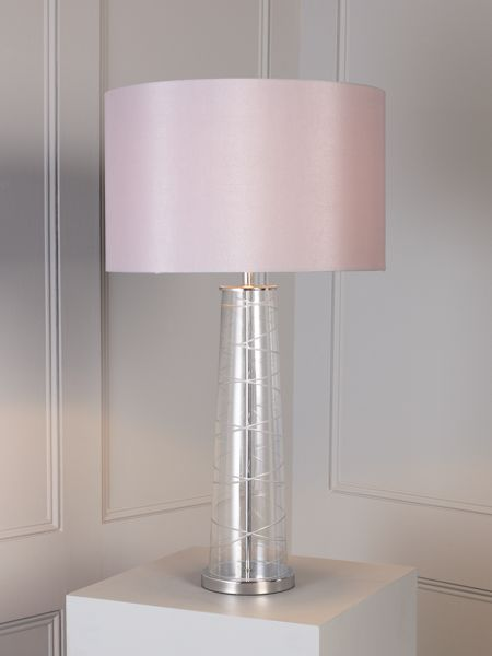 Casa Couture Vidure cut glass cone base table lamp