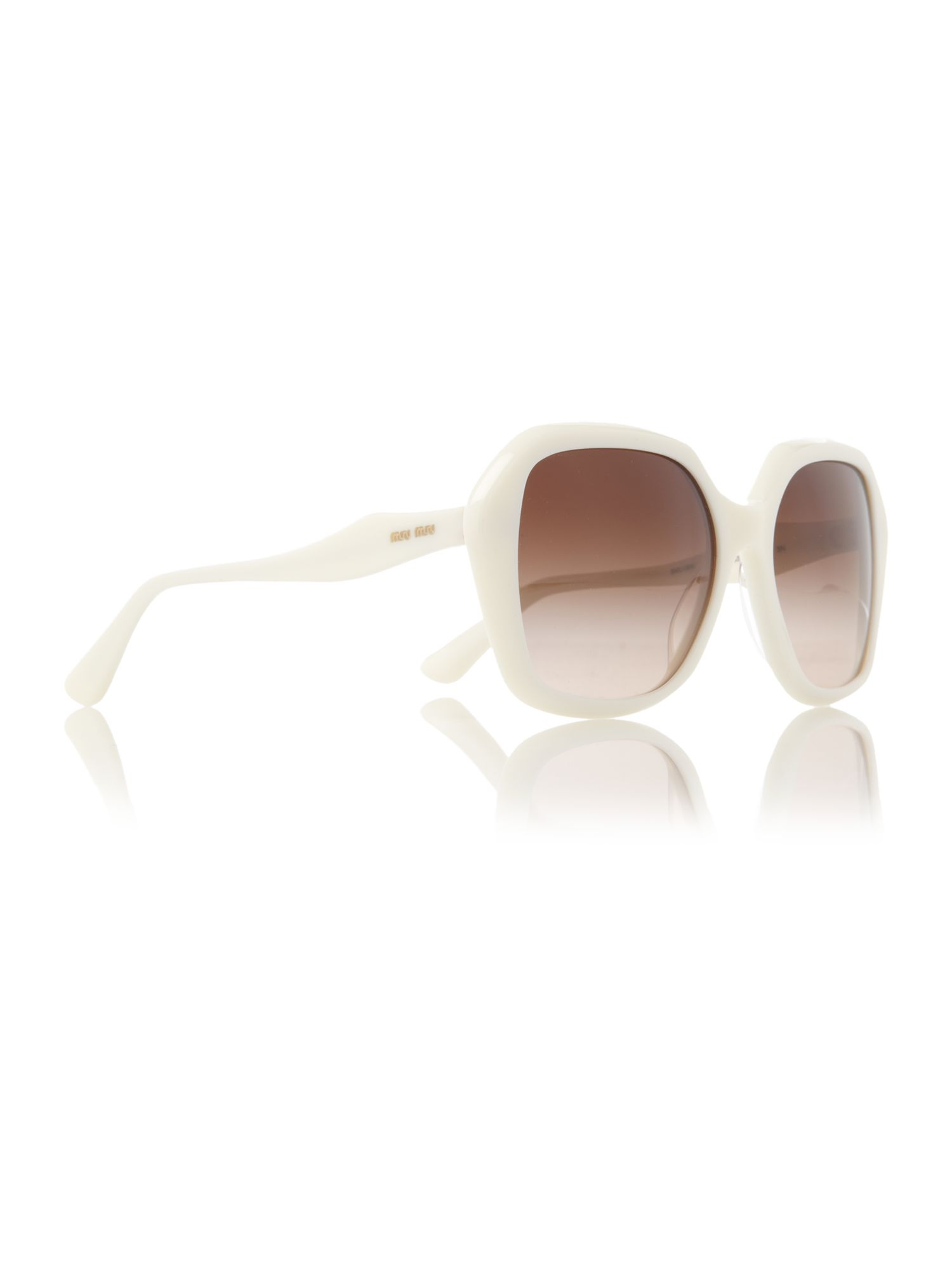 Ladies MU06NS Ivory Sunglasses