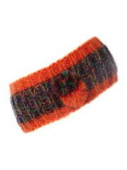 Therapy Knitted headband with pompom detail