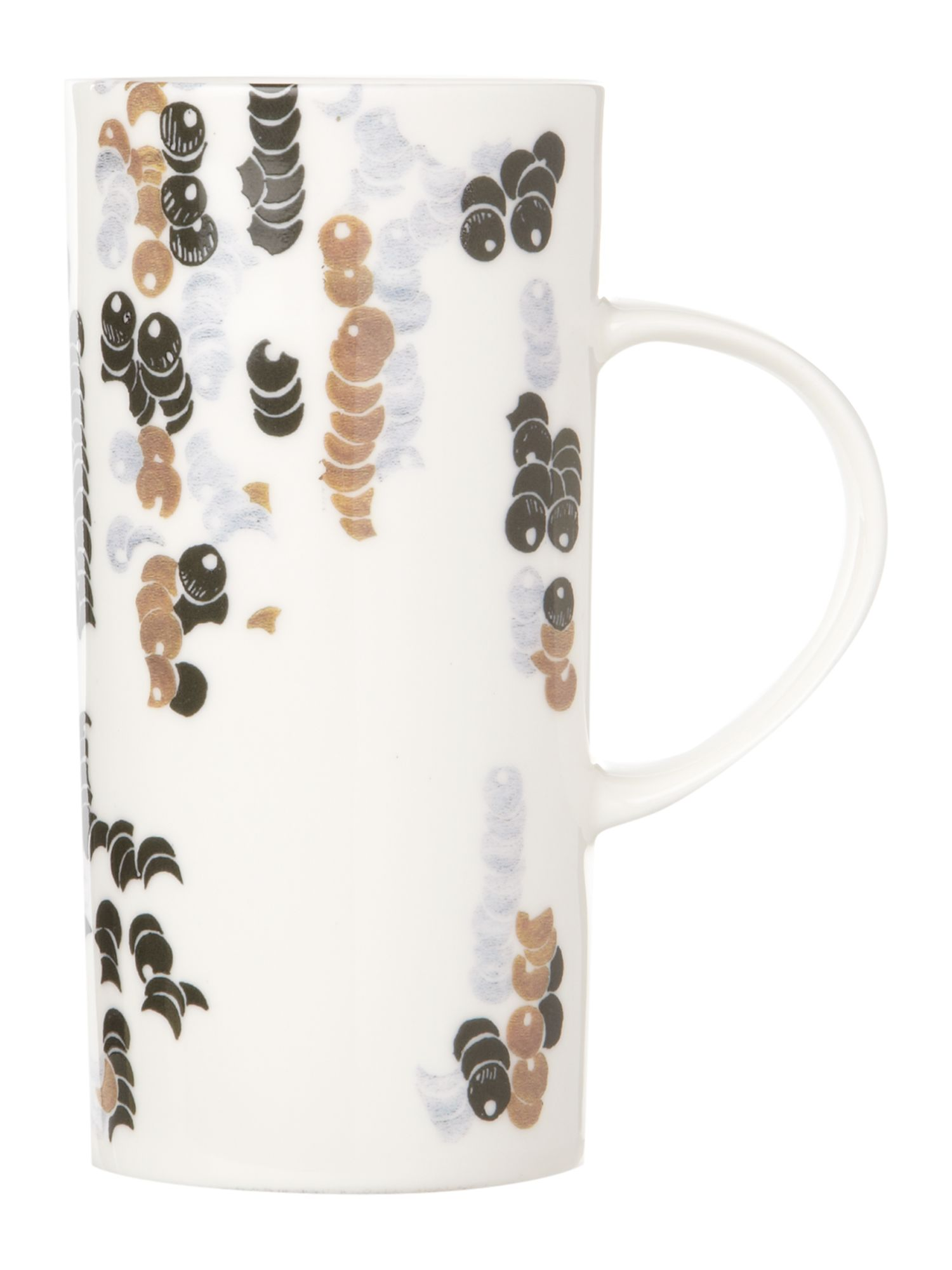 Sequin tall slim mug
