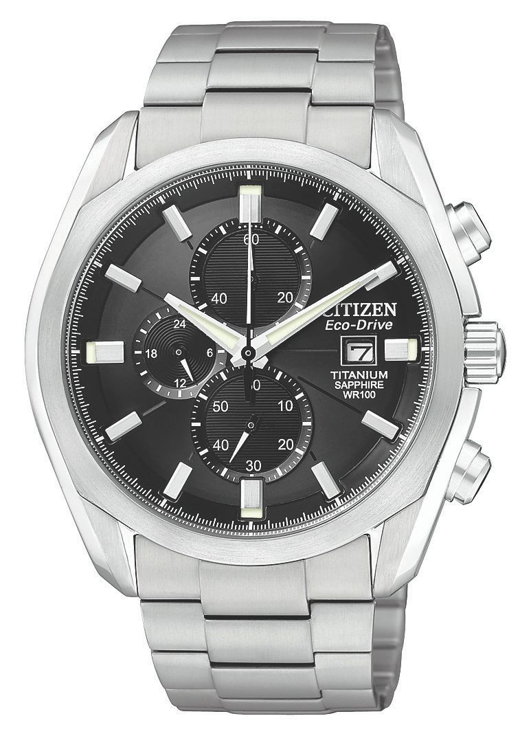 Citizen CA002056E Men`s Titanium Silver