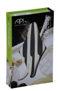 Arthur Price Set of 4 small stainless steel cheese knives