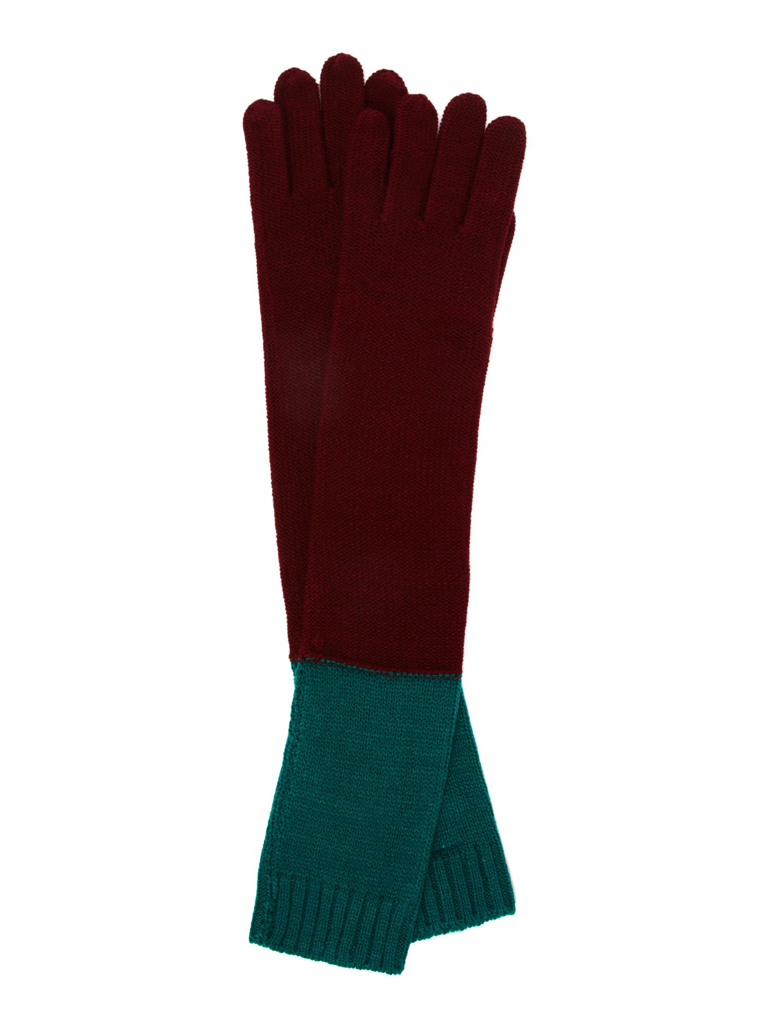 Colour-block glove