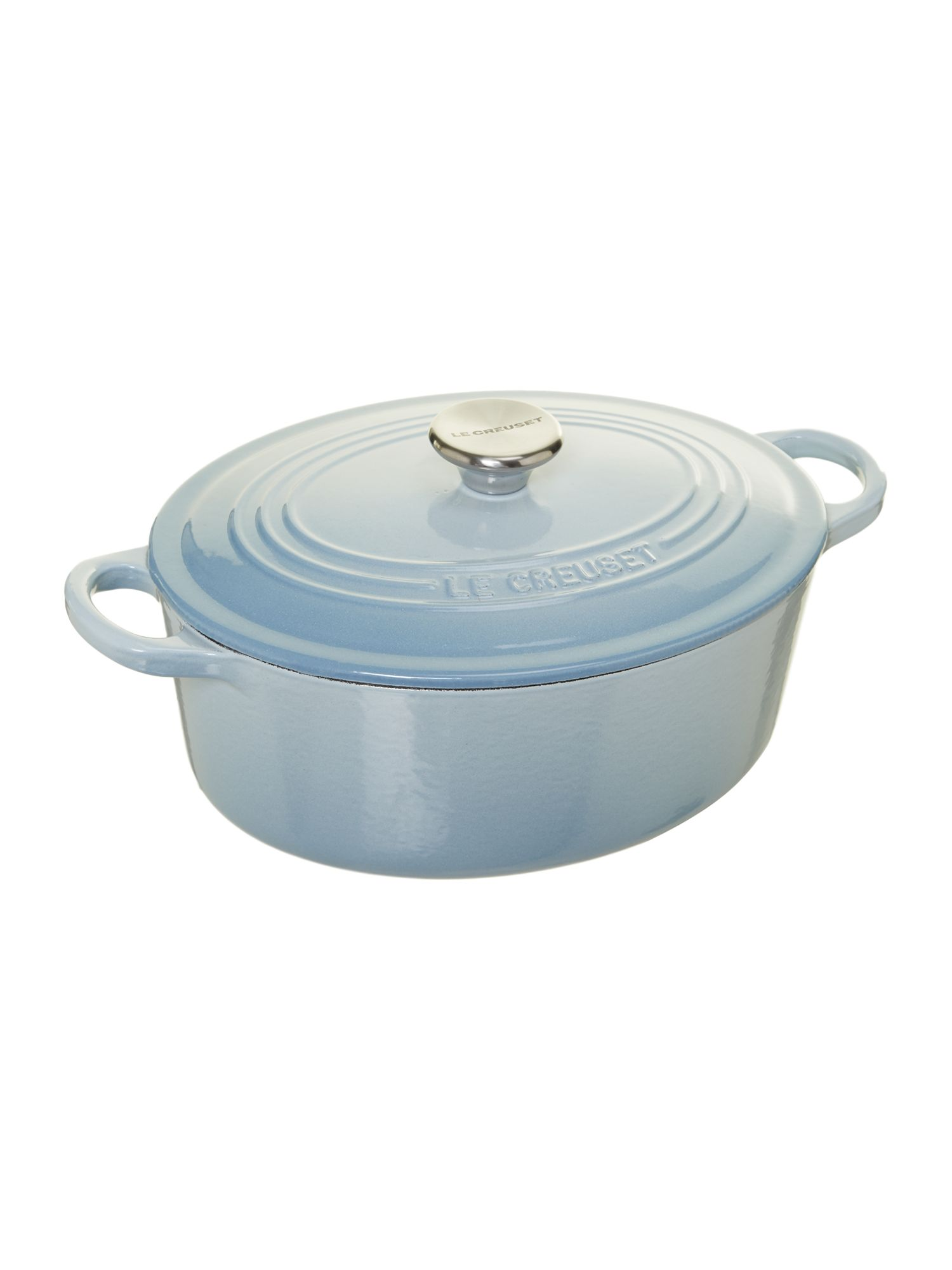 Oval casserole, Coastal Blue, 25cm