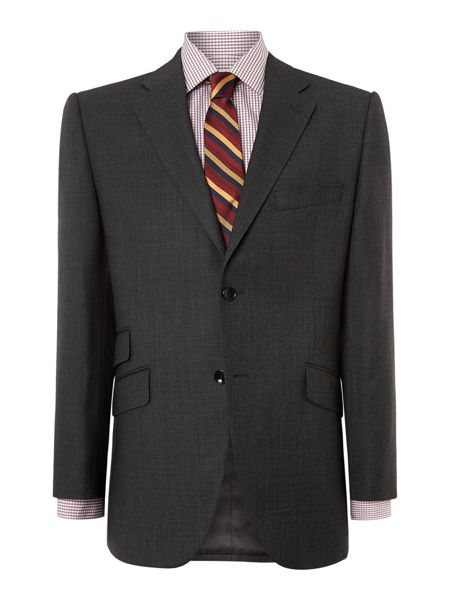 Howick Tailored Crawford birdseye suit jacket