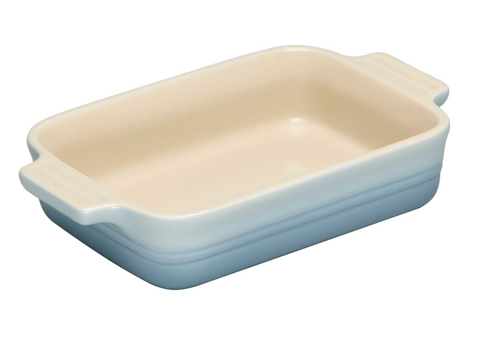 Rectangular dish, Coastal Blue, 19cm