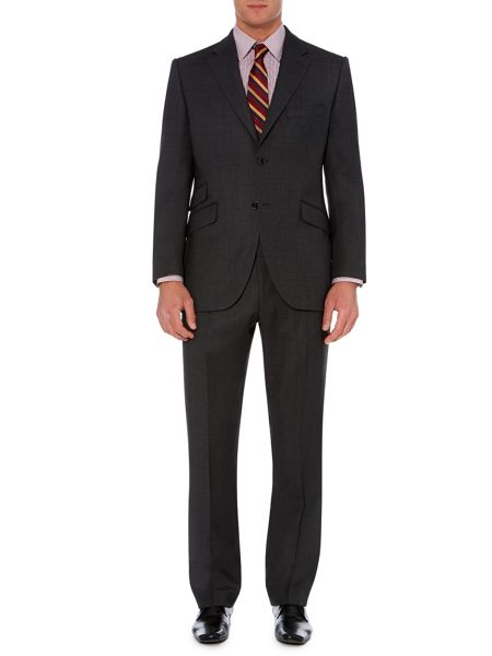 Howick Tailored Crawford Birdseye Suit Trousers
