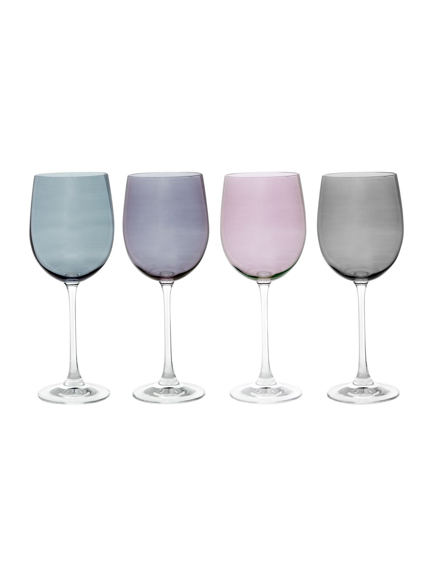 Lustre Wine glasses, box of 4