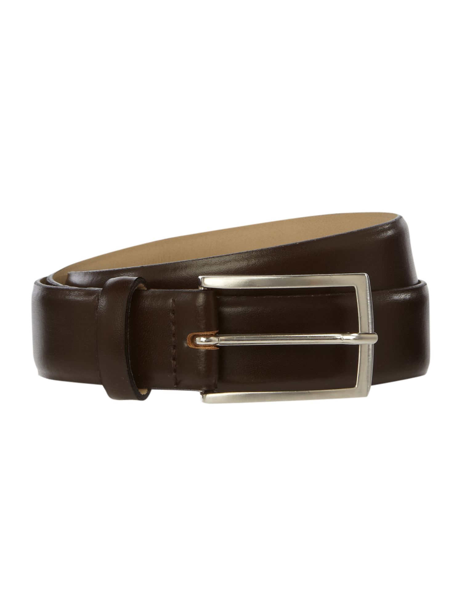 Plain Bevelled Edge Nubuck Belt