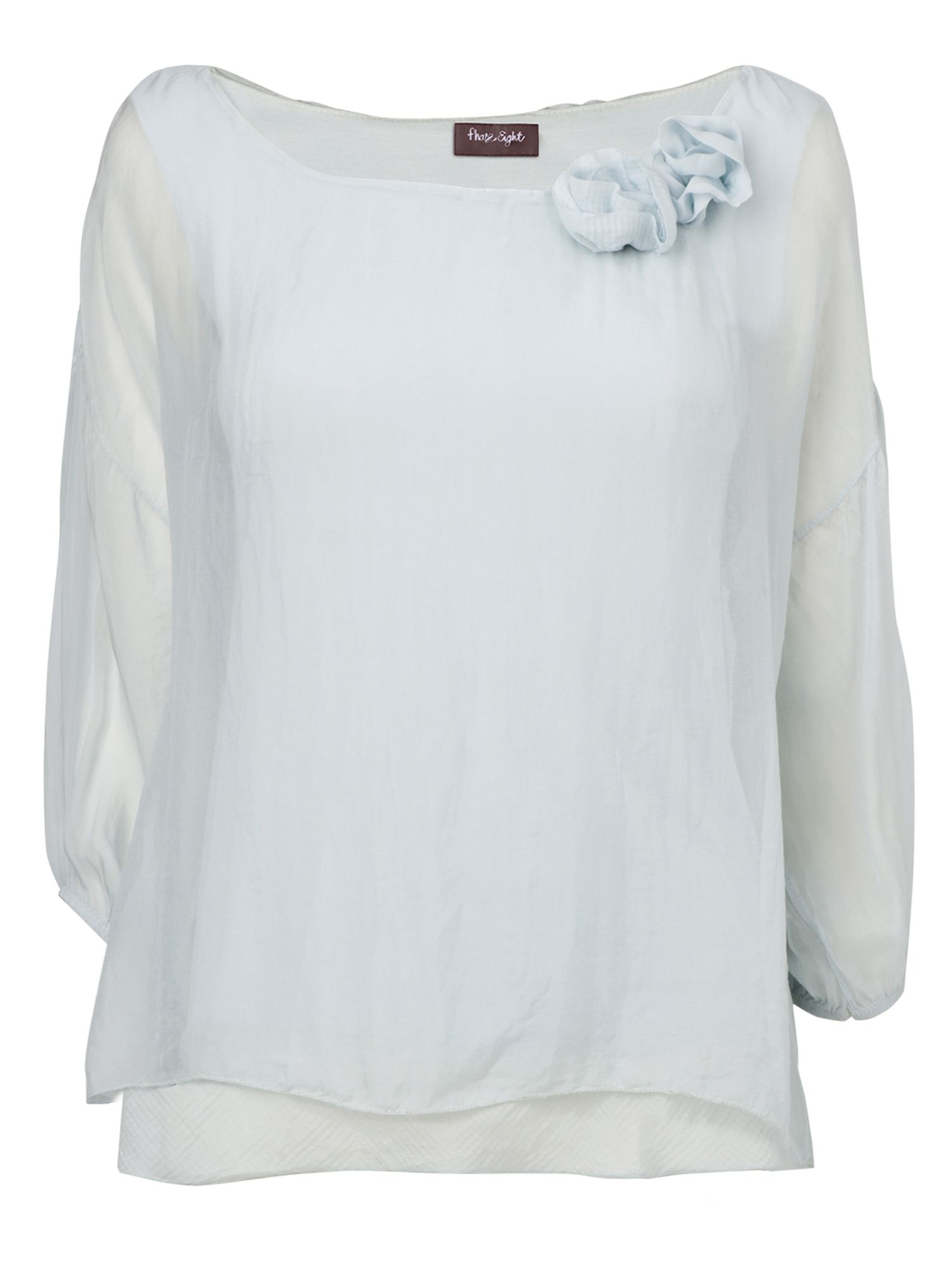 Phase Eight Womens Phase Eight Marin rose blouse, Blue product image