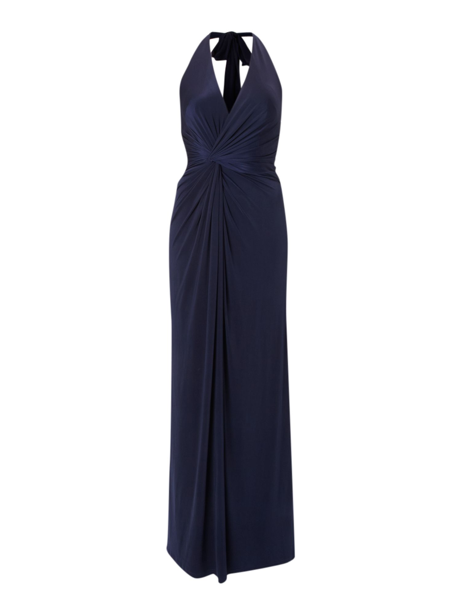 Marilyn halter neck maxi dress
