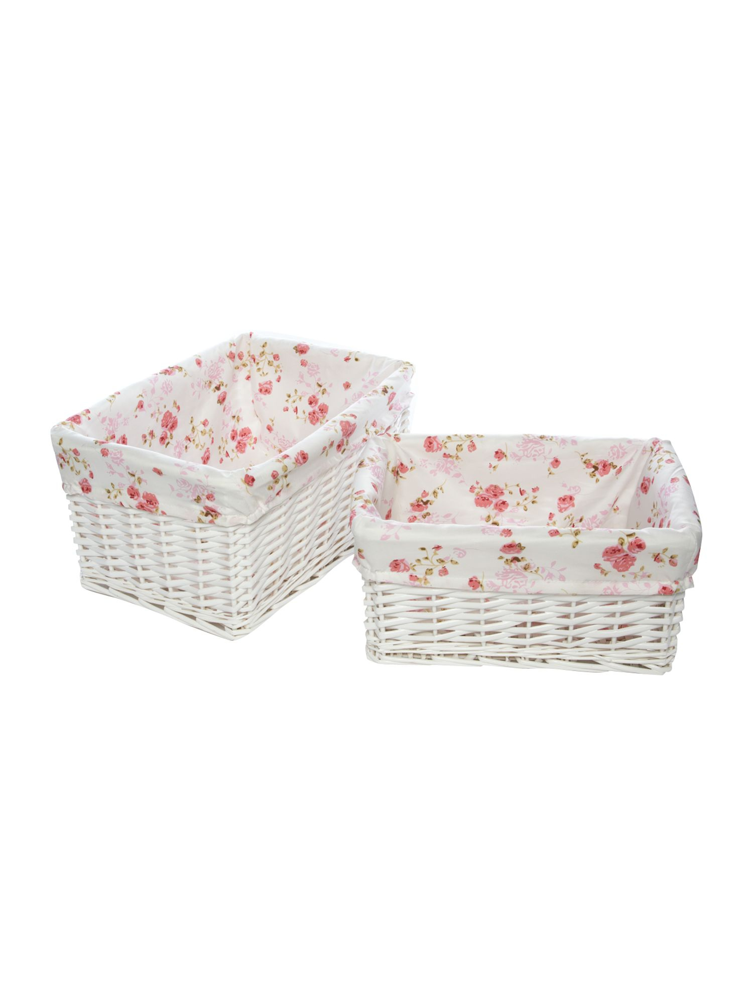 Vintage Floral laundry and storage range