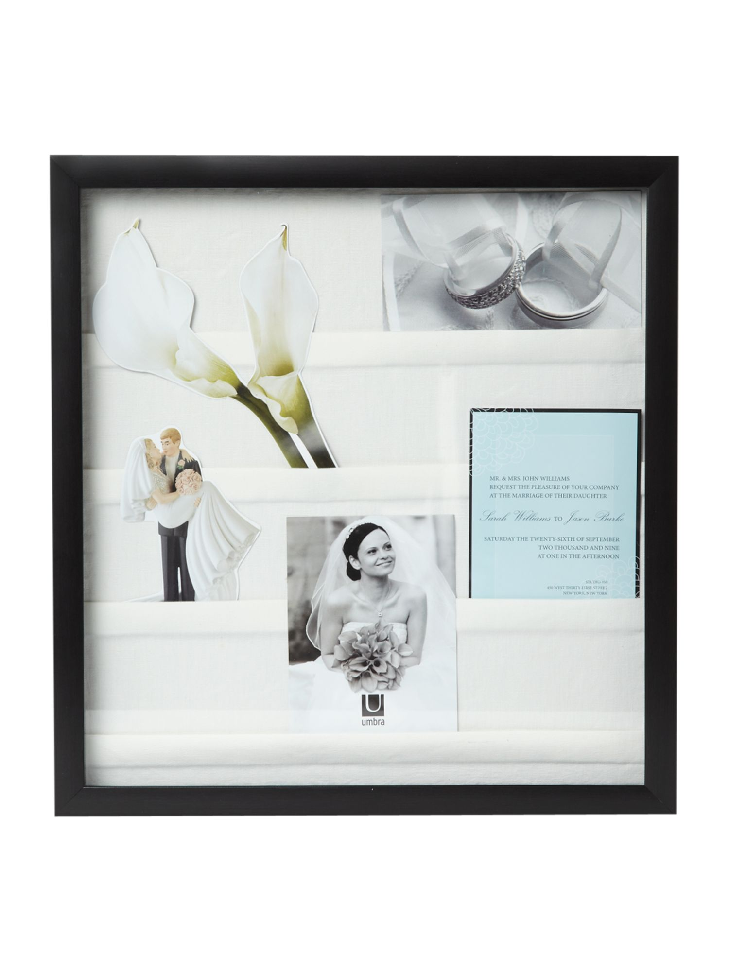 Envelope shadowbox