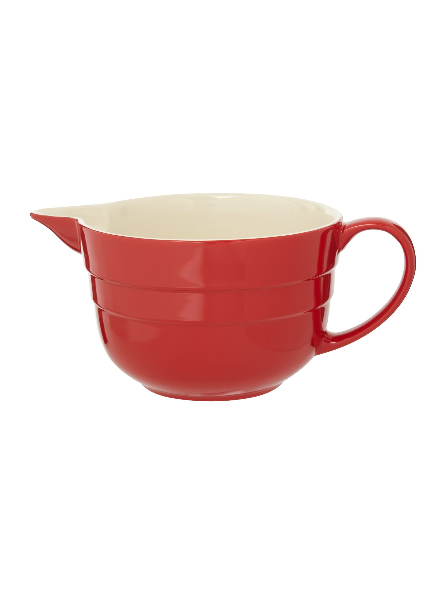 Maison batter jug, Red