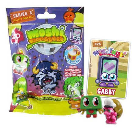Moshi Monster Moshi blind bag series 3