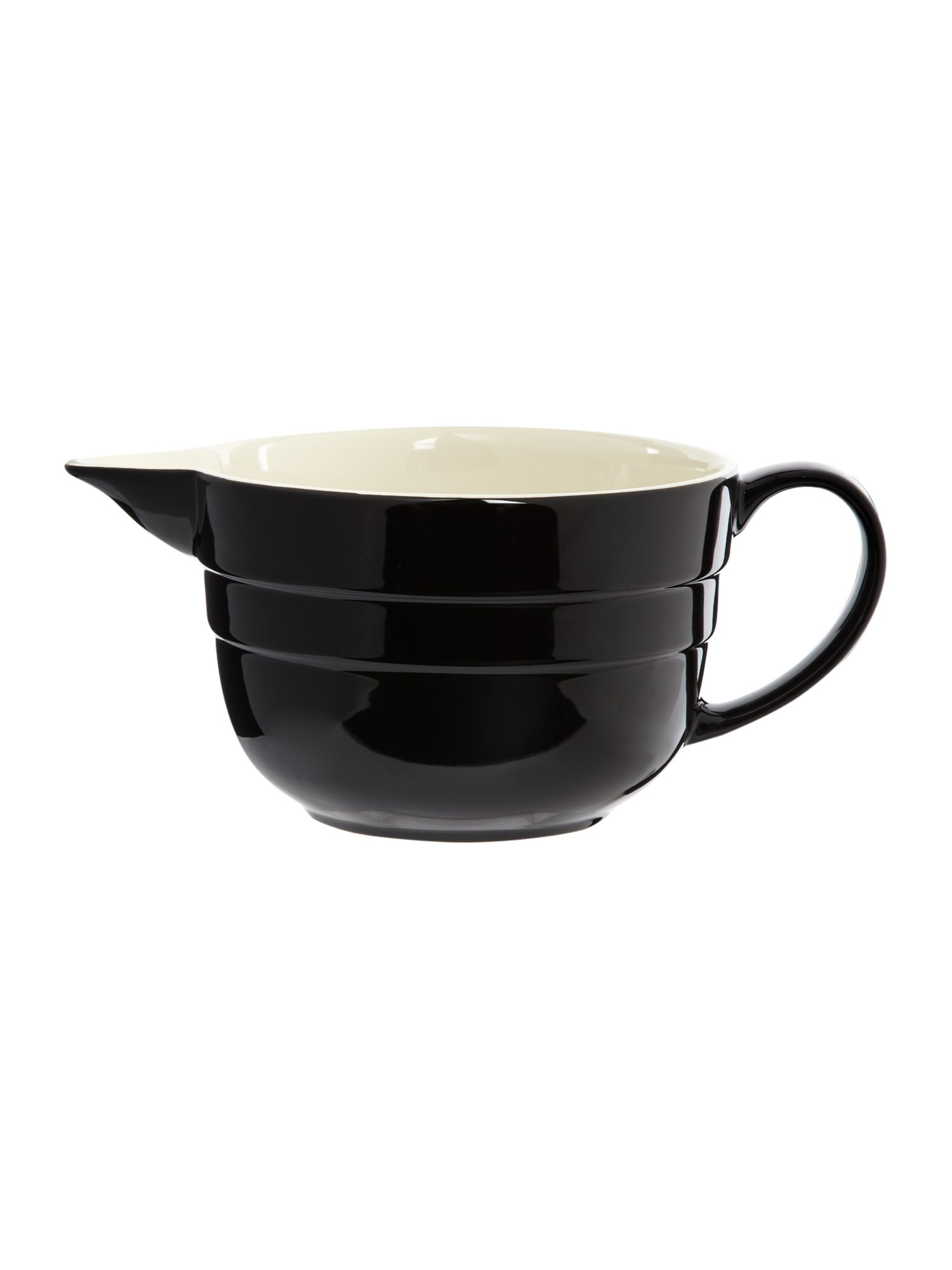 Maison batter jug, black