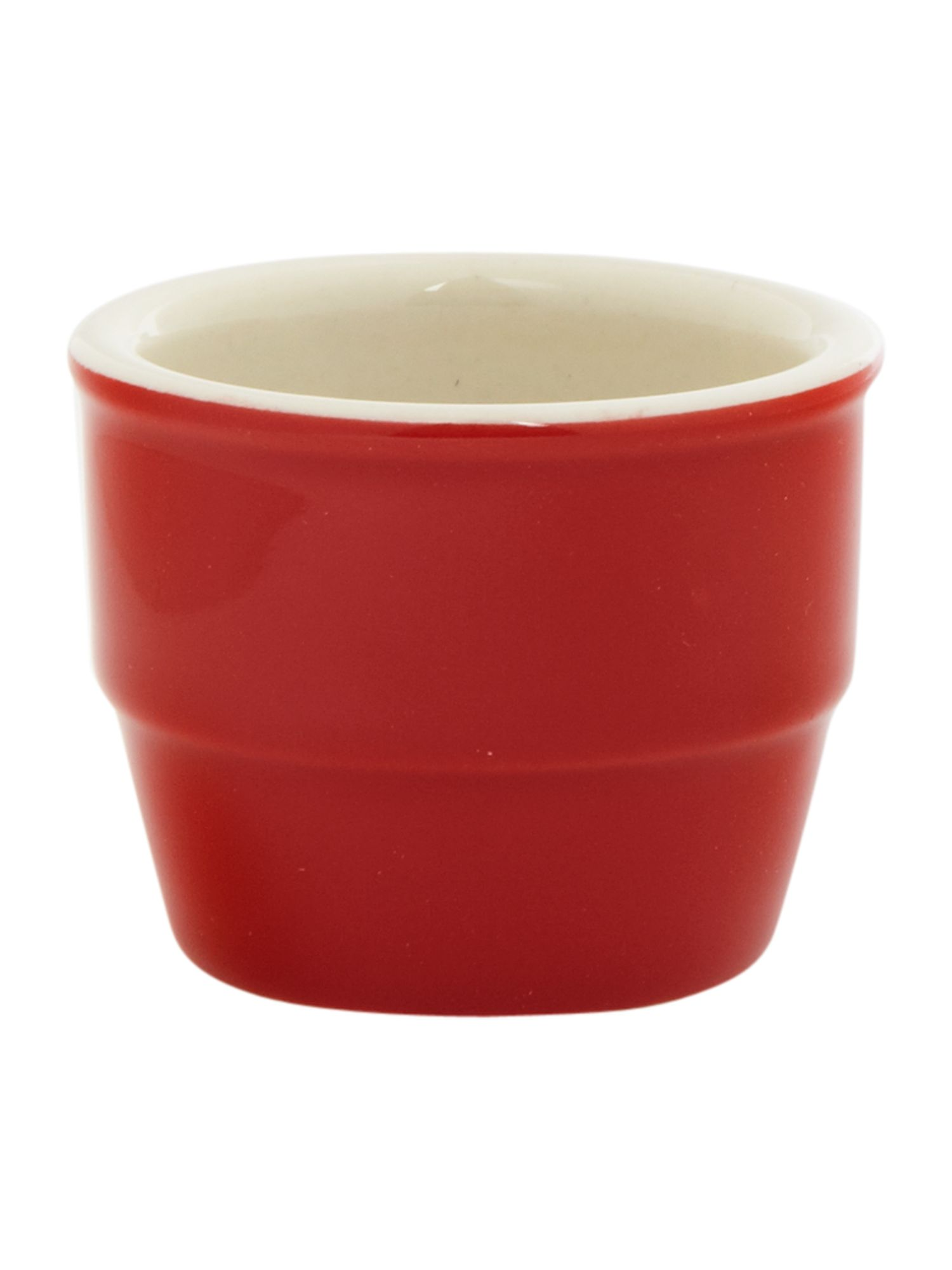 Maison egg cups set of 4, red