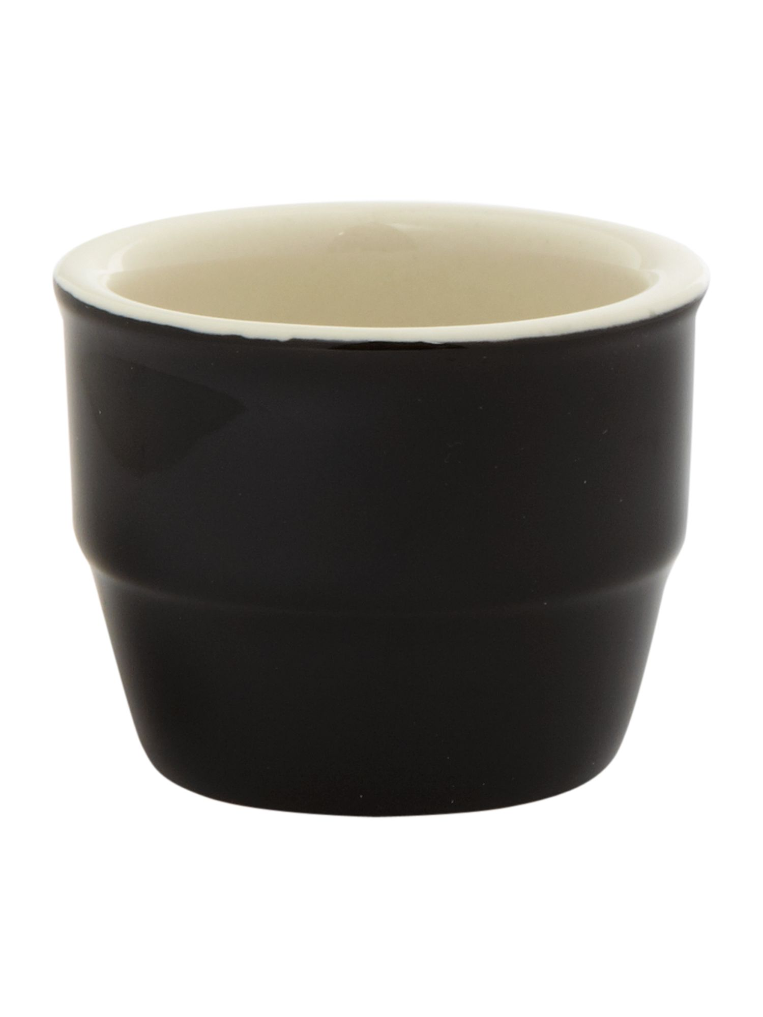 Maison egg cups set of 4, black