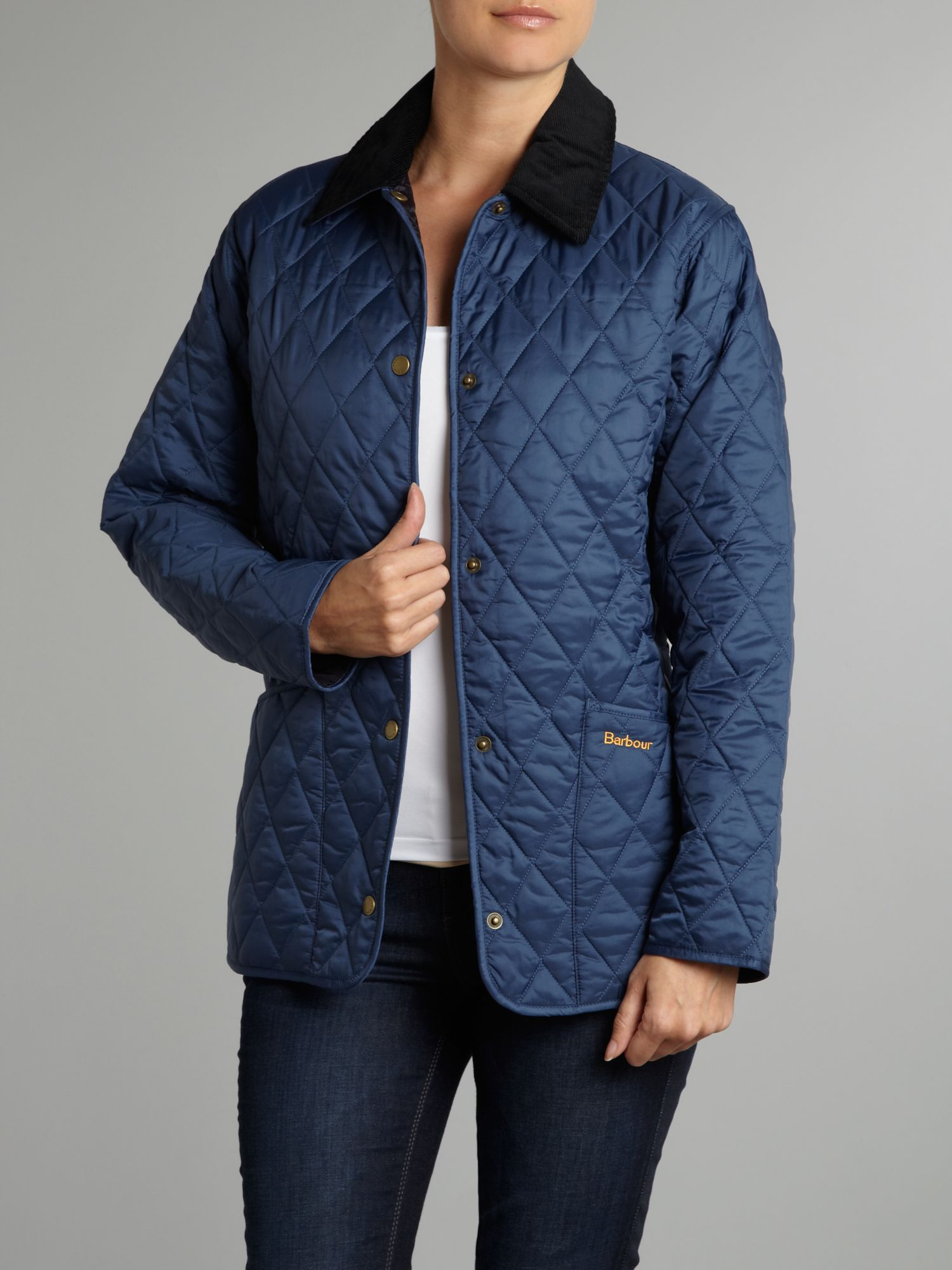 Shaped liddesdale quilted jacket