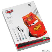 WMF Disney cars 4 pce cutlery set