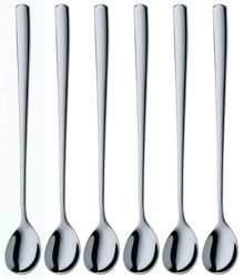 Bistro Long drink spoons, Set of 6