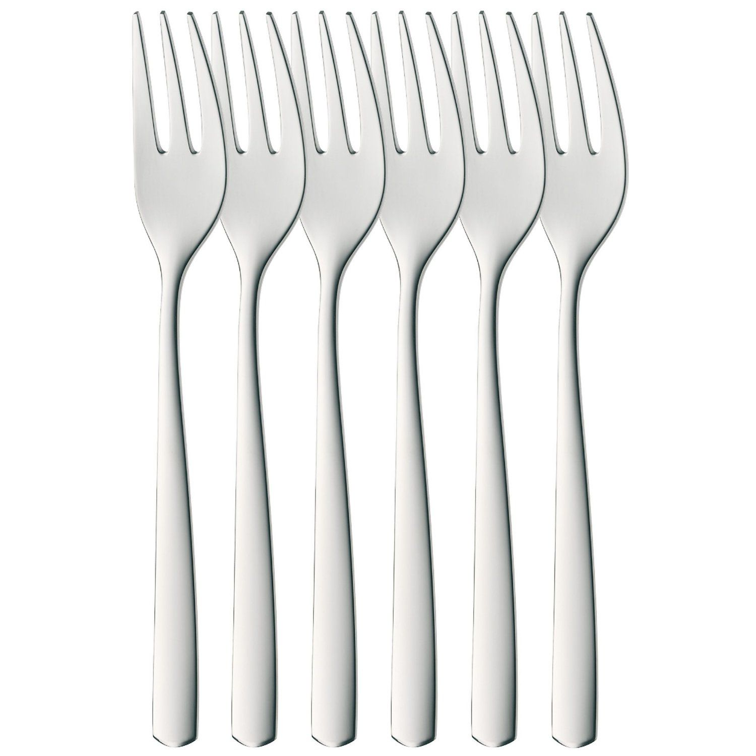 Bistro cake forks, set of 6