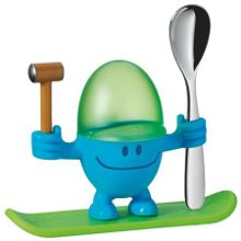 WMF Egg cup with spoon