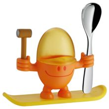 WMF McEgg egg cup with spoon orange/yellow