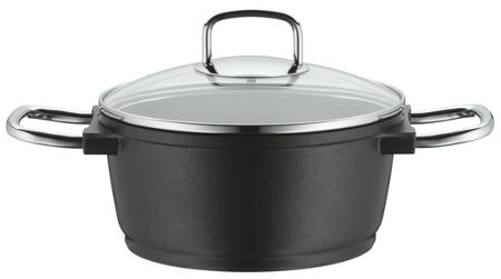WMF Bueno induction high casserole with glass lid