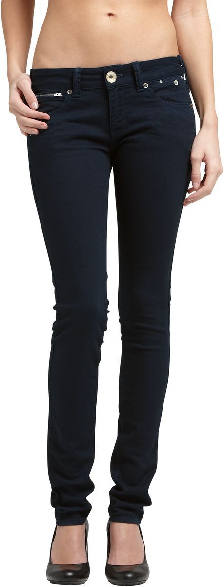 Hilfiger denim skinny jean with stretch. pockets